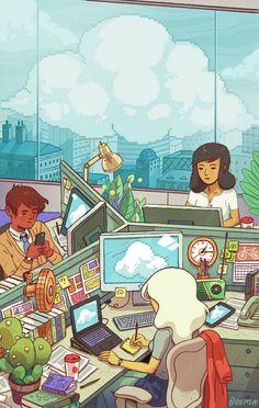 Beautiful Corporate Life. - http://sambosma.blogspot.com/