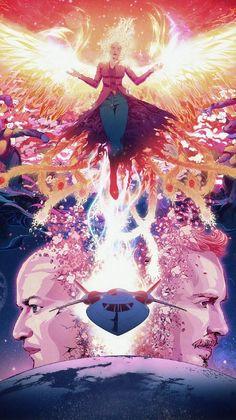 A Year in Film A Movie Trailer Mashup — Strange Harbors Marvel Comics, Bd Comics, Marvel Xmen, Captain Marvel, Jean Grey Phoenix, Dark Phoenix, Phoenix Force, Marvel Universe, Phoenix Marvel