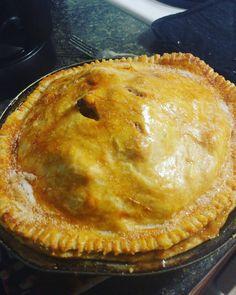 The humble yet delightful apple pie #pie #apple #applepie #sunday