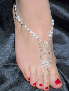 what bride wants to be barefoot when she and her attendants can wear these jewels??