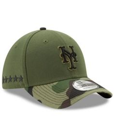 582577000e8 New Era New York Mets Memorial 39THIRTY Cap - Green Miami Marlins