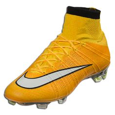 new concept a93c1 390b4 Nike Mercurial Superfly FG - Laser Orange White Black Volt Firm Ground  Soccer