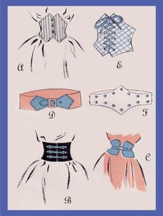 make a 1940's style belt! someday!