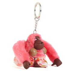 a7a5b63508 Shop for a cute and unique designer keychains at Kipling. You're gonna go  bananas for our cuddly and furry little monkeys.