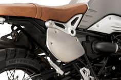 Side dorsal Aluminium covers for BMW R Nine-T Scrambler!! By #puig