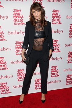 Helena Christensen - Arrivals at Jony and Marc's (RED) Auction