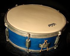 rogers snare drum cake back by debbiedoescakes, via Flickr