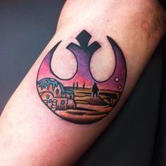 @jobdequaypdc Found on Instagram. #StarWarsTattoo #StarWars #Tattoo