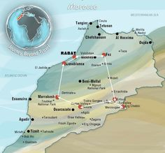 Eclectic Map - Best of Morocco