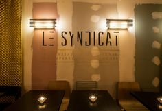 Le plus rock : Le Syndicat