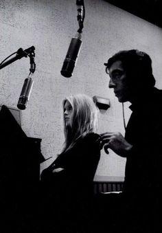 Brigitte Bardot and Serge Gainsbourg