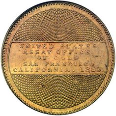 1853 ten dollar gold
