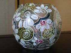 Pattern ideas for painting glass bowls