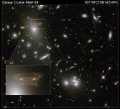 "Hubble image of a ""Space Invader""  Credit: NASA/ESA/N. Rose"