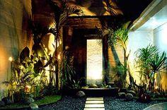 Balinese Garden - Country Home Design Ideas