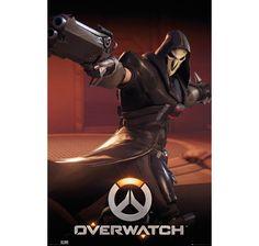 Overwatch Poster Reaper. Hier bei www.closeup.de