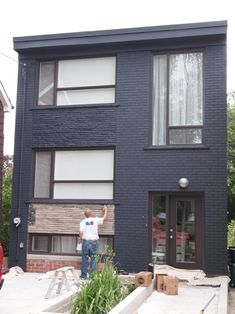 I actually really like this exterior which goes to show - Farrow and ball exterior masonry paint ideas ...