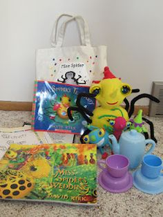 Take Home Bags- this blog has a whole list of fun bag ideas. What a great way to bring learning home!