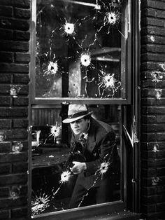 Paul Muni in Scarface by Howard Hawks 1932