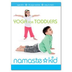 Namaste Kid DVD: Yoga for Toddlers (Retitled Yoga Motion) -- Read more info by clicking the link on the image. Toddler Yoga, Baby Yoga, Yoga Mom, Family Yoga, Big Family, Yoga Sun Salutation, Preschool Age, Sweat It Out, Yoga For Kids