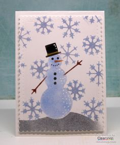Simple Winter Cards with Art Screens, Jenn Shurkus. Looking for unique handmade Christmas card ideas beyond traditional green and red? We've rounded up the best non-traditional cards from around the Clearsnap Colorbox designers over the years. We're talking plaid, chalkboard, and even non-traditional Christmas colors so keep reading below to see how make stamped holiday cards that WOW!