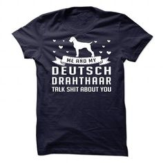 Deutsch Drahthaar - #teespring #sleeve. FASTER:   => https://www.sunfrog.com/Pets/Deutsch-Drahthaar-87697220-Guys.html?id=60505