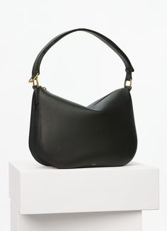 Medium Saddle Bag in Smooth Calfskin - Céline