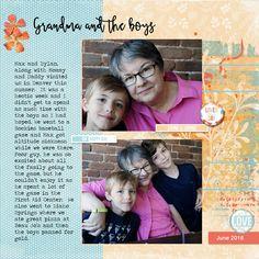 Lynn Grieveson Designs September kit Dezine template