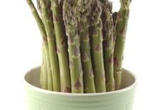 How to Grow Asparagus in a Container Garden   eHow