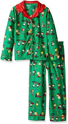 737f25d45b Peanuts Big Girls' 2pc Holiday Sleepwear Coat Set Peanuts Christmas, Charlie  Brown Christmas,