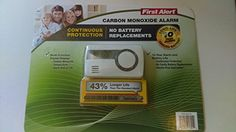 Special Offers - First Alert Carbon Monoxide Alar Long life 10 Year Alarm with Temperature - In stock & Free Shipping. You can save more money! Check It (June 10 2016 at 07:50PM) >> http://smokealarmsusa.net/first-alert-carbon-monoxide-alar-long-life-10-year-alarm-with-temperature/
