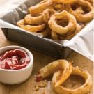 Try the Beer-Battered Onion Rings Recipe on williams-sonoma.com/