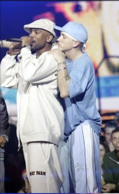 Eminem and Proof rip. This is a great picture