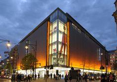 Light + Design - Debenhams Facade, Oxford Street