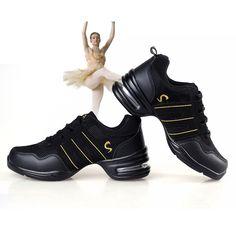 Scarpe Da ballo di Fitness Traspirante a 14,81$ #fitness #dance #sport #shoes #gym #latino #salsa #palestra #jazz #ballo #balletto #deals #offerte http://bit.ly/2dMG8jT