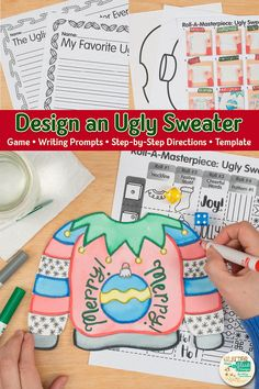 Ugly Christmas Sweater Art Game Looking for Christm&; Ugly Christmas Sweater Art Game Looking for Christm&; cicelyardellaih cicelyardellaih Main Ugly Christmas Sweater Art Game Looking for Christmas art […] Sweater drawing Christmas Art For Kids, Christmas Art Projects, Winter Art Projects, Christmas Drawing, Winter Crafts For Kids, Projects For Kids, Christmas Canvas, Christmas Games, Christmas Christmas
