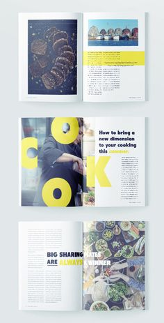 Foodies this way, we've just created the perfect food magazine template. It's professionally designed, stylish and free. Grab our modern food magazine template while it's hot! Design Stylish Food Magazine Template for InDesign Magazine Layout Inspiration, Layout Design Inspiration, Food Magazine Layout, Collage Magazine, Magazine Layout Design, Food Inspiration, Design Food, Ppt Design, Poster Design