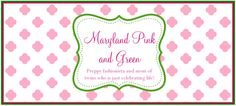 Maryland Pink and Green Blog Review #goodiebag #summerreads #mustread #memoir