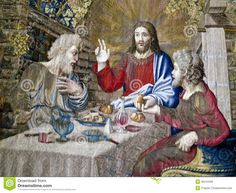 Image from http://thumbs.dreamstime.com/z/jesus-tapestry-vatican-museums-meets-disciples-detail-gallery-gallery-tapestries-shows-flemish-tapestries-36441065.jpg.