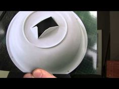 How To Make a Beauty Dish - flash diffuser