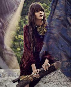 Cinematic Safari Photoshoots : Nicole Kidman Vogue US