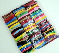 Elastic Candy Color Baby Girls Hair Band Rope Ponytail Holder 4cm 90 pcs TKGC034 #Unbranded