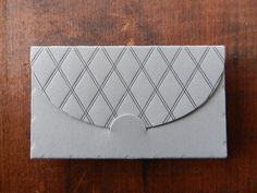 Letterpress Business Card Holder by Typothecary Letterpress