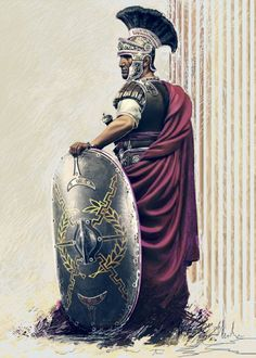 20 Images of Ancient Roman History - vintagetopia - Geschichte - Military Art, Military History, Roman Armor, Rome Antique, Roman Warriors, Roman Legion, Greek Warrior, Empire Romain, Roman Soldiers