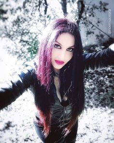 """NOEMI AURORA_Helalyn Flowers on Instagram: """"As the world out there tries to stop, we stay connected with our passions. Music, art and creativity are the nectar of complicity. Let's…"""" Sad Eyes, Gothic Beauty, Aurora, Creative, Flowers, Instagram, Music, Art, Fashion"""