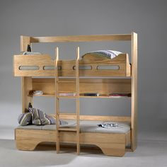 Lit rabattable et lit superposé passe plats meubles en pin. Magasin Jirdeco La Londe var