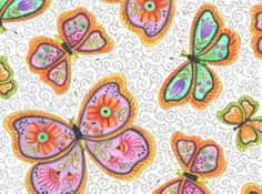 Butterfly Kisses 22442Z by SewCuteQuilting on Etsy, $10.00