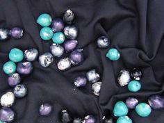 Perlas Montesas listas para hacer collares