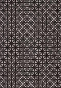 YUKATA BATIK, Charcoal, W80051, Collection Portico from Thibaut