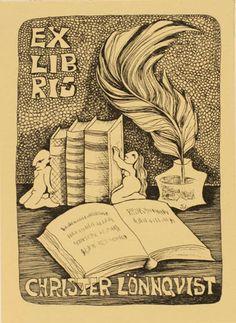 Art-exlibris.net - exlibris by Sonja Lehto for Christer Lönnquist
